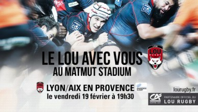 Match Lou rugby - Aix en Provence